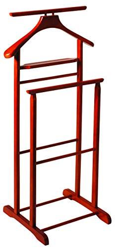 HAKU Möbel 30669 Herrendiener 47 x 36 x 102 cm, kirsche