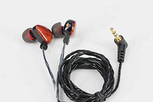 HEIR AUDIO Tzar 350 een handgemaakte In Ear Monitor Oortelefoon (afneembare kabel)