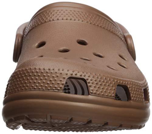 Crocs Classic Clog Unisex Adulta Zuecos, Negro (Black 001), 43/44 EU
