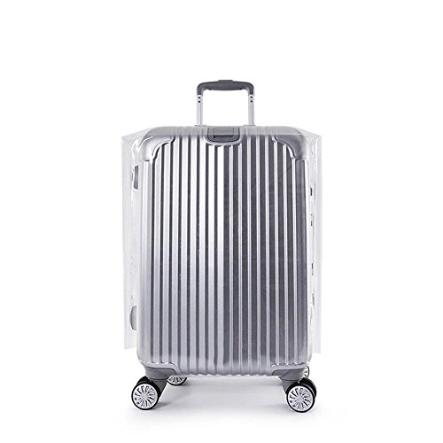Luggage Cover,Suitcase Cover Protective Clear PVC Suitcase Cover for Carry on Luggage,Waterproof PVC Thickening Transparent