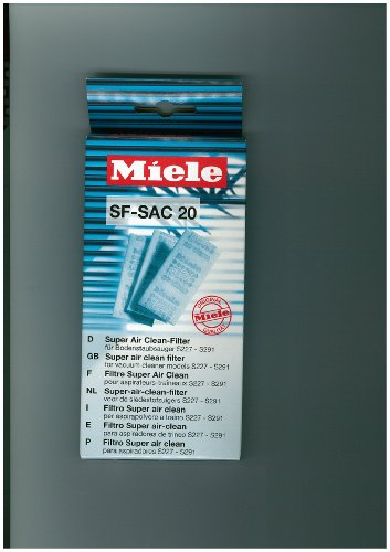 Miele SF-SAC 20 Super Air Clean Filtres pour aspirateurs (Import Allemagne)