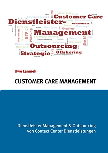 Customer Care Management: Dienstleister Management &  Outsourcing von Contact Center Dienstleistungen