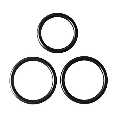 O-Rings Gasket Seal Set Engine Radiator Hose And T-pipe coolant leak Repair Replacement Compatible with Ford F-150 5.0L Mustang DR3Z-8566-A & 2x BC3Z-8590-F