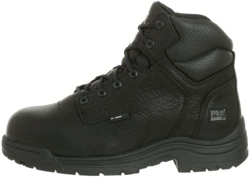 Timberland PRO Mens Titan 6 Inch Composite Toe Work Work Safety Shoes Casual - Black - Size 5.5 W