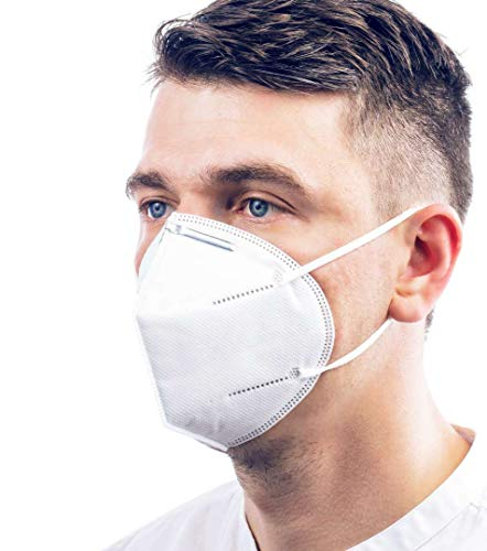 ViTho [5 Stück] TOP Schutz ohne Ventil | Atmung Schutz gegen Staub, Pollen, Abgase, Luftverschmutzung