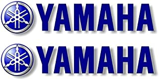 2 Yamaha Graphic Vinyl Decals for Truck Sled Snowmobile Kodiak Grizzly 700 Trailer Stickers ((2) 2