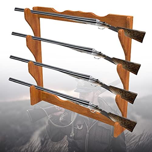 ZPCSAWA Soporte de Pared Horizontal para Armas de Fuego, Soporte de Pared para Rifle, Escopeta, Airsoft