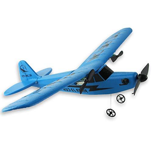ALEOHALTER Avión teledirigido de 2,4 GHz, modelo Super Sonic teledirigido, modelo de avión teledirigido, espuma EPP