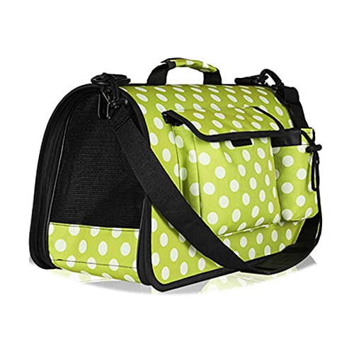 JIAAN Pet Bag 1 Pieces Dog Cat Carrier Bag Cat Carrier,Portable Pet Carrier Bag For Cats And Small Dogs,Foldable Soft Sided Cat Transport Carrier,Pet Travel Carrier With Shoulder Strap