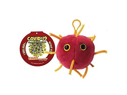 Giant Microbes Portachiavi Peluche CORONAVIRUS COVID-19