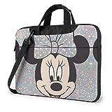 13 Inch Laptop Bag Minnie Mouse Laptop Briefcase Shoulder Messenger Bag Case Sleeve