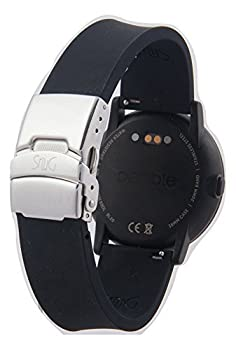 pebble time round silver 20mm