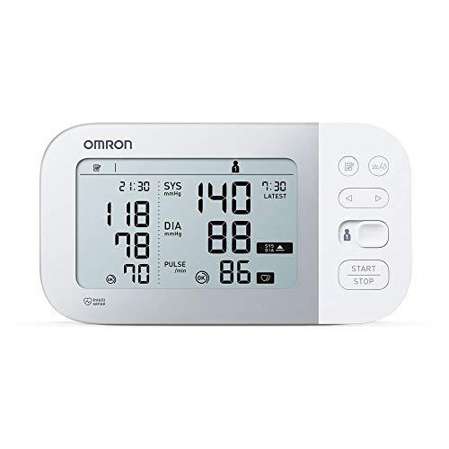 41oL5qYx6QL - Omron Tensiómetro X7 Smart, monitor para la presión arterial con detector de AFib y Bluetooth, para el hogar y, compatible con dispositivos iOS y Android