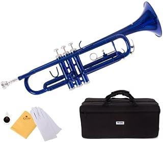 ماندنی توسط سسیلیو MTT-BL Trumpet، Blue، Bb
