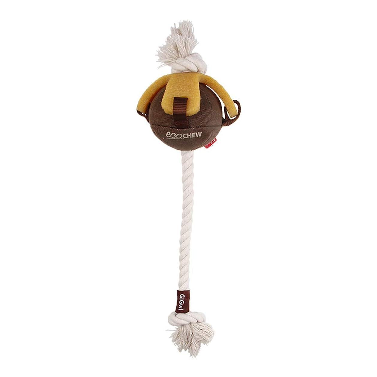 等々写真を撮るサイトSGLI ペットおもちゃペットサウンドトレーニングおもちゃラバーモルペットインタラクティブボール33cm ペットボール (Color : Brown)