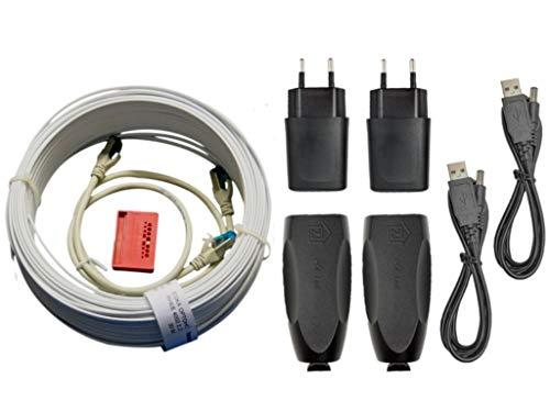 Homefibre MCE301-FC POF Fast-Ethernet - Conversor de medios
