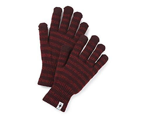 Smartwool Striped Liner Glove Masala SM