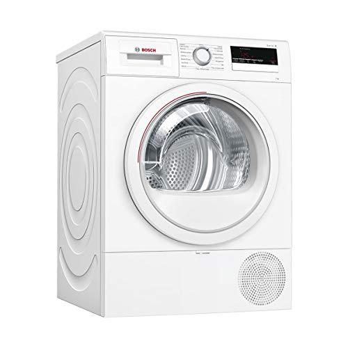 Bosch Elettrodomestici WTR85V07IT Asciugatrice Libera Installazione, Caricamento Frontale 7 kg, Classe Energetica A++, Bianco
