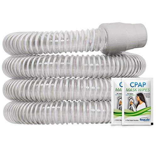 RespLabs CPAP Hose, Grey Premium Tubing — The Original Universal 6 ft. Tube | Compatible with Respironics and ResMed Devices