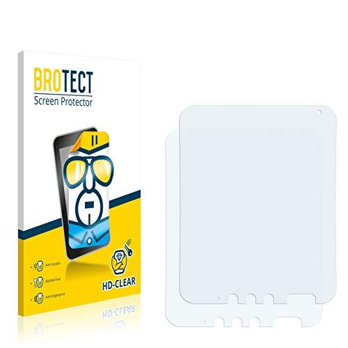 BROTECT Schutzfolie kompatibel mit Panasonic Toughpad FZ-A1 (2 Stück) klare Bildschirmschutz-Folie