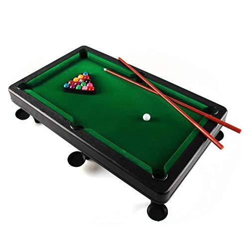 LCRACK Billardtisch Mit Zubehör Snooker-Bälle, Pool Queues, Universal Bequemlichkeit Spaß Billardtisch for Zuhause Indoor Outdoor (Farbe : 58×35cm)