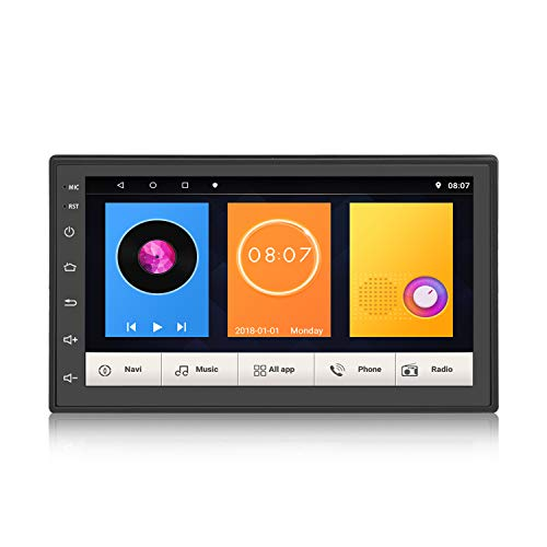 KKXXX KXS6 Mate Android 8.1 Estéreo para automóvil Navegación GPS Radio automática Reproductor de Video para automóvil Pantalla táctil 1GB RAM 16 GB ROM Control del Volante BT