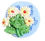 Inception Pro Infinite Molde de Silicona para Uso Artesanal de un Ramo de Flores de Margarita, también Adecuado para jabón