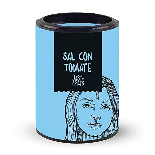 Just Spices Sal con tomate, 60g   Sales aromatizadas   Para tostadas, ensaladas y mozzarella