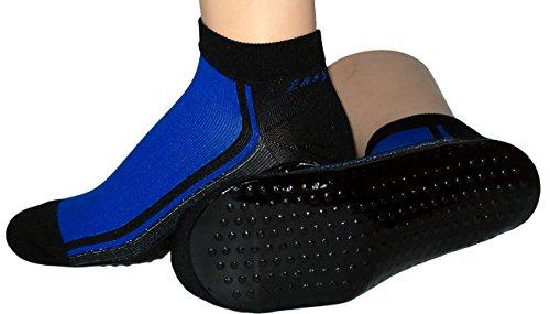 Beach Socks Wattwander Strand Socke, Größe:43/46, Farben alle:royal/schwarz
