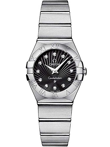 Omega dames Diamond sterrenbeeld armband horloge 123.10.24.60.51.001