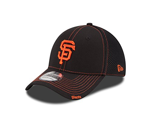 MLB San Francisco Giants Neo Fitted Baseball Cap, Black, Small/Medium