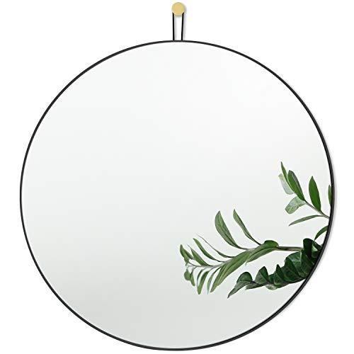 Harmati Specchio rotondo con cornice in metallo...