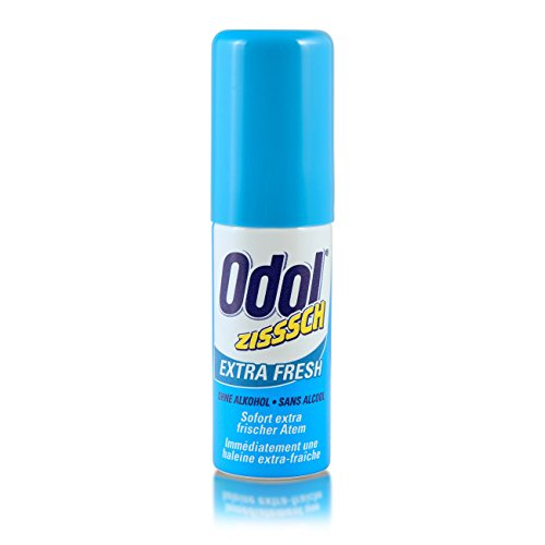 5-Pack Odol Extra Fresh Reise-Mundspray ohne Alkohol 5x15ml