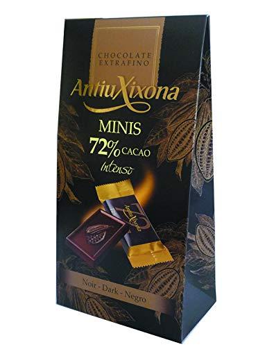 Minitabletas de Chocolate (chocolatinas individuales) estuche de 200g - Antiu Xixona