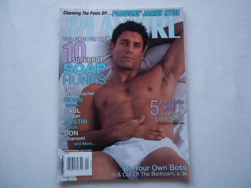 Playgirl Magazine (September 2002) Male Nude Photos Photography