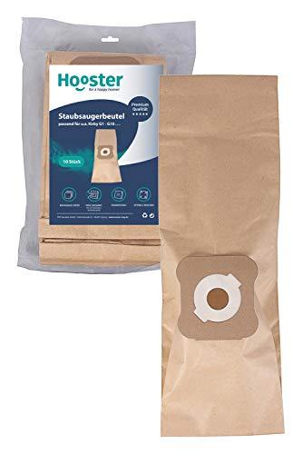 Hooster 10 bolsas de aspiradora aptas para Kirby G 4 / G4 / G-4 / Papel