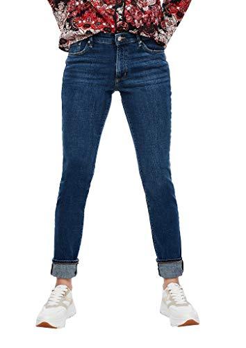 s.Oliver Damen Slim Fit: Slim leg-Jeans blue 42.32