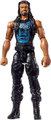 Mattel FFX05 WWE Roman Reigns 30 cm Basis Figur, Spielzeug Actionfiguren ab 6 Jahren