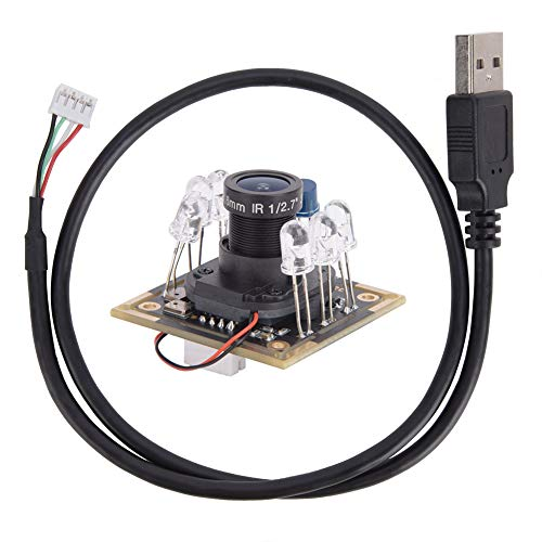 Módulo de cámara USB Sensor de imagen IR-CUT Infrared HM2131 Chip con micrófono 1920x1080 30 fps 94 °