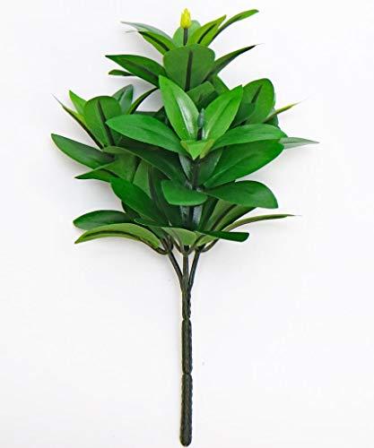 造花 おしきみ ミニサイズ 約27cm 1本 洗えて長持ち (シキミ・樒・シキビ)