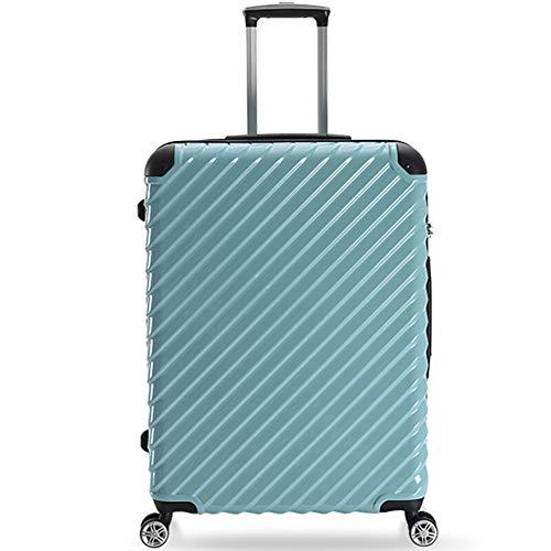 Caja de la Carretilla Maleta, Carro, Maleta de Transporte, Estuche rígido, Bolsa de Viaje, Peso Ligero Caja de la Carretilla (Color : Nile Blue)