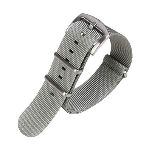 ZXF Correa de Reloj, 18 mm 20 mm 22 mm 24 mm de Nylon Reloj de Reloj de Reloj Deportivo Correa Impermeable Reloj de Reloj Banda de la Banda de la Banda de la Banda del cinturón