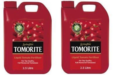 2 x Levington Tomorite Liquid Tomato Feed - 2.5L Each Fertilis