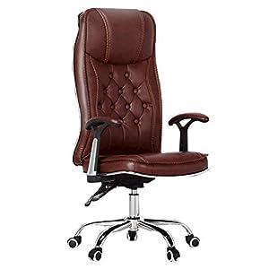 XIAMIMI Silla de Oficina Jefe Ejecutivo ergonómico Computer Gaming Internet Cafe Presidente de Asiento sillas giratorias de Hogares sillón reclinable