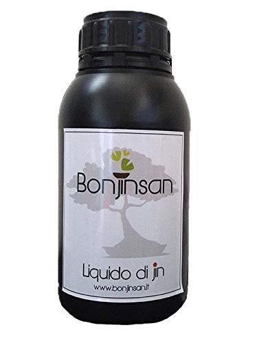 Liquido per Jin e Shari (polisolfuro di Calcio) Certificato per Bonsai (500 ml)