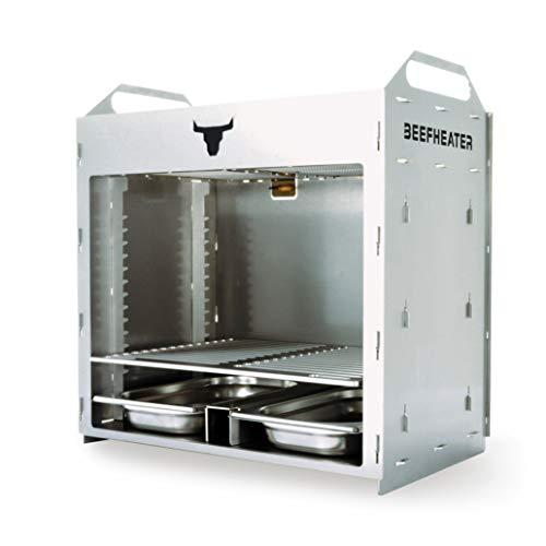 BEEFHEATER Double - Oberhitzegrill - Gasgrill - 830 Grad - Spülmaschinen reinigbar