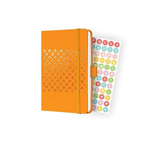 SIGEL J2210 Jolie agenda semanal 2022-9,5 x 15 cm - hardcover - 174 páginas - orange