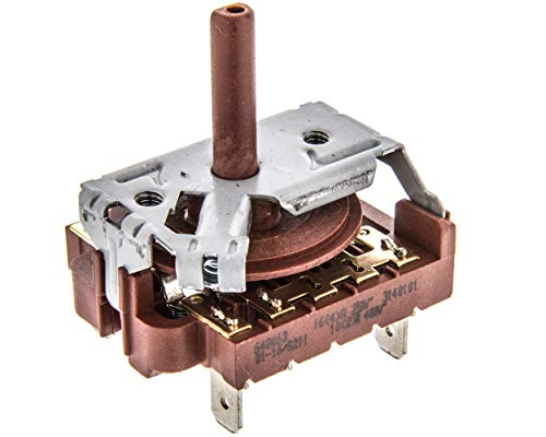 Remle - Selector para horno Teka 4 posiciones - Código Original 640463 99511410 - HC495 HI435 HI535 HM535