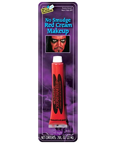 Aucune Smudge Maquillage Rouge