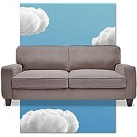 Serta Living Room Solid Wood Frame Palisades Upholstered Sofa